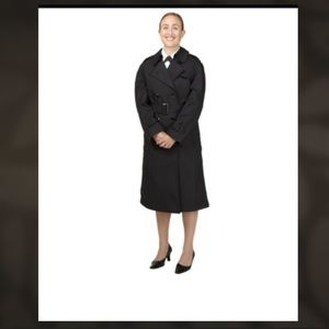 Military Black All Whether Coat